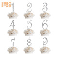 high quality RHINESTONE CRYSTAL NUMBER CAKE TOPPER DECORATION