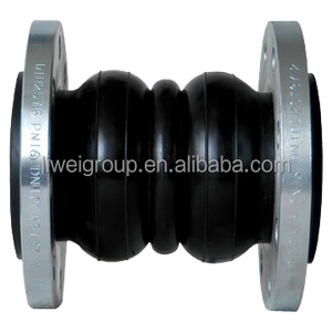 Double ball rubber flexible pipline expansion joint
