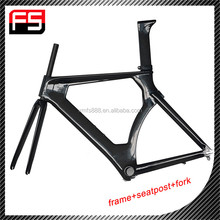 Chinese wholesale OEM carbon super light time trial bike frame, high quality carbon bike frame for sale