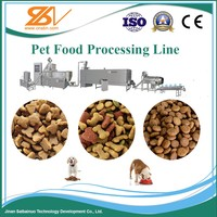 Factory price high quality 58-180KW Pet feed production line