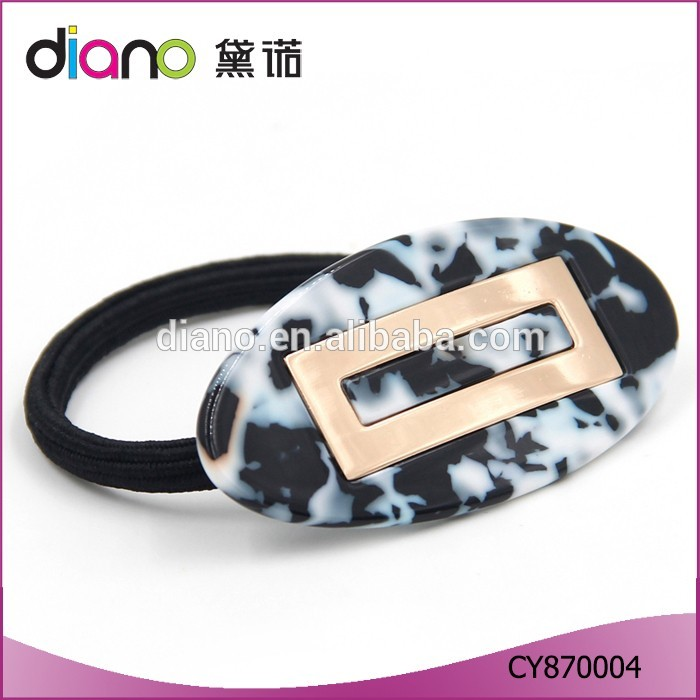 Chinese Top Quality Ladys' Acetate Barrette Hair Scrunchies Fashion Hair Clip 2016