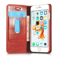 Wholesale Low Price for iPhone 6 6s Case,Cover for iPhone 6 6s Cell Phone, Flip Leather Wallet Case for iPhone 6