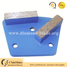 Rectangle Diamond Segment Trapezoid Grinding Shoes for coating removal
