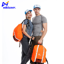 High quality regular size safety led light up backpack cover for travel