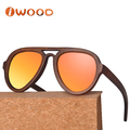 Christmas 50% discount Cat 3 UV400 polarized bamboo Wooden Sunglasses Wholesale in china