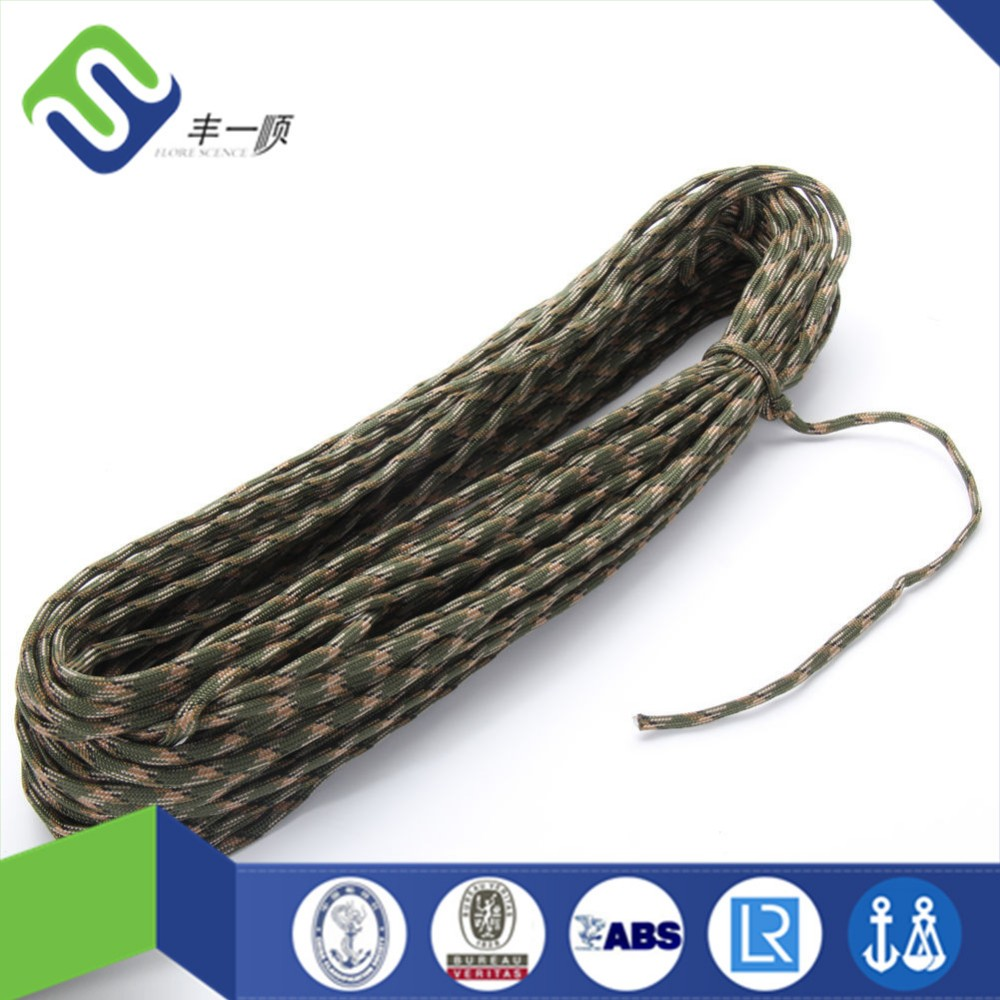 Outdoor survival rope 7 strand 4mm paracord 550