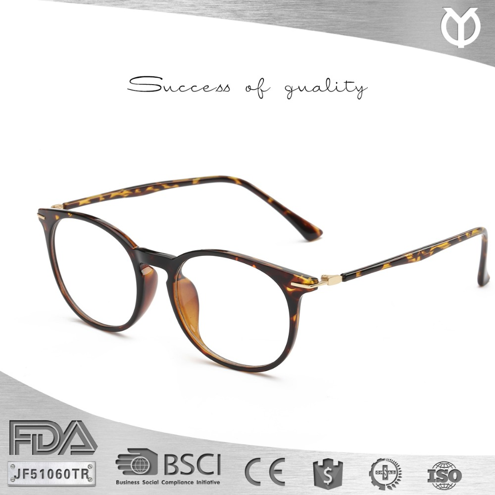 JF51060TR Latest Fashion European Unisex Optical Frame Brand TR90 Eyeglasses Fames