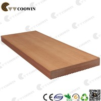 Wood plastic composite container floor board