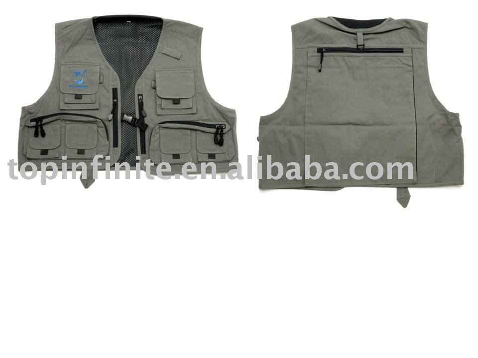 Fishing Vests, life vests, fishing tackle, FV-018