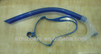 Durable and fashionable adult frontal swimming snorkel