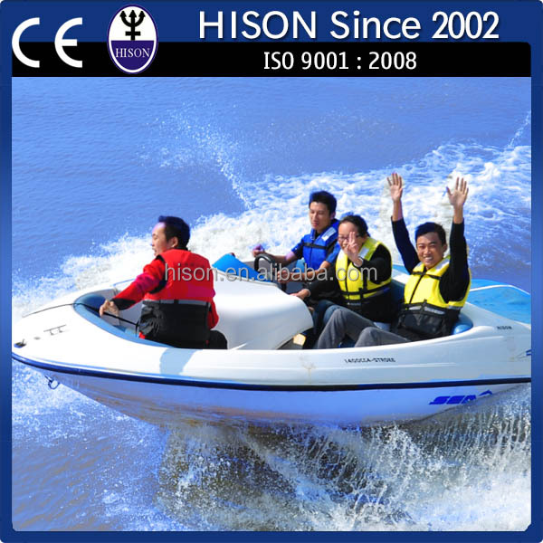 2014 Hison China factory directly sale fiberglass cabin boats