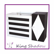2015 Hot sale bar counter customized newly design beauty salon furniture front desk counter