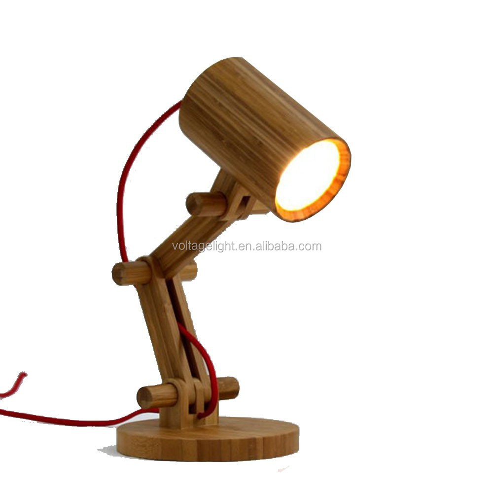 List manufacturers of office table round wire buy office table fancy wooden table lamp robot designer reading lamp foldable natural color round desk lamp greentooth Choice Image