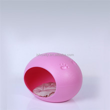 High quality Egg shape pet plastic dog bed