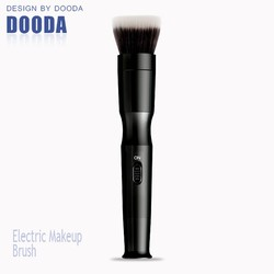 New arrival electric automated rotating cosmetic brush case with replaceable brush heads for women