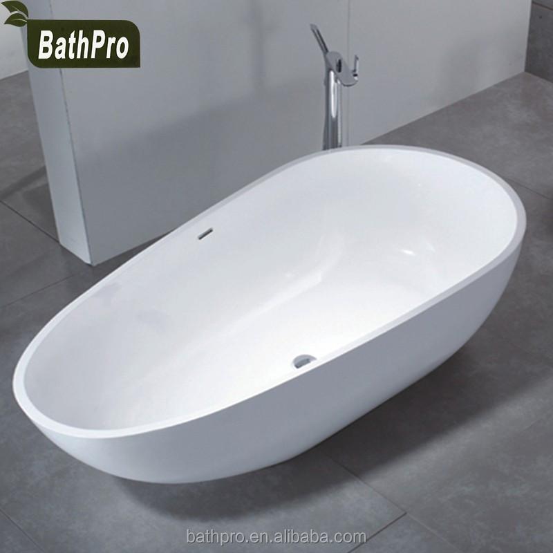 Bath Tub 2 Person 1700 Length Artificial Stone Bathtub For Adult ...