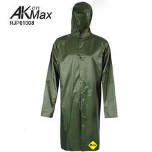 Government Bid heavy duty raincoat military rain long coat factory directly sale