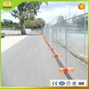 Good quality concerts or pool galvanized temporary fence/swimming temporary fence