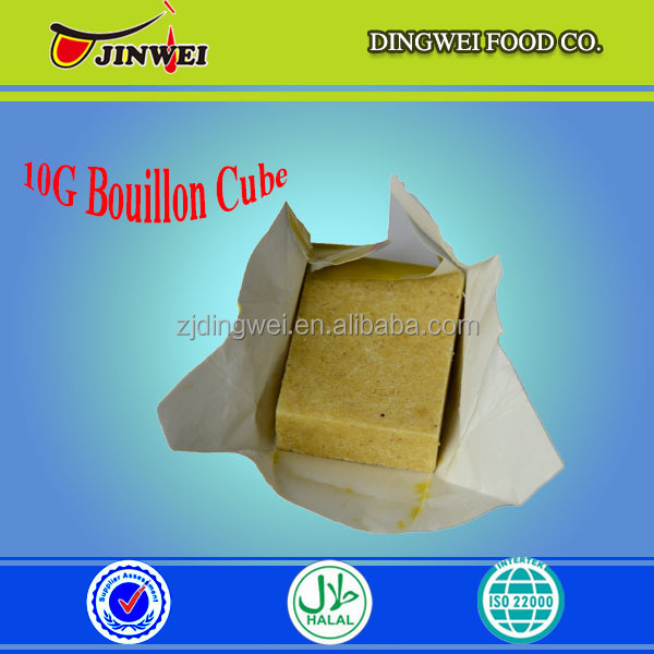 10G* 60*24 AFRICA FOOD HALAL CHICKEN BOUILLON MAGIC CUBE