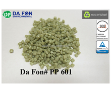 polypropylene recycled plastic PP resin granule pellet eco friendly PP601