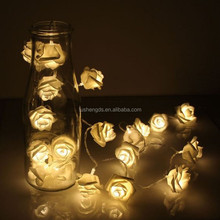 4.5V 3AA Battery Operated Cool White color Bulbs 2.2 Mters 20 Leds Rose String Light