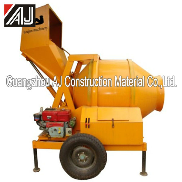 Hot Sale Africa!!! JZF350 Diesel Concrete Mixer with Small Cement Pump,Guangzhou Manufacturer