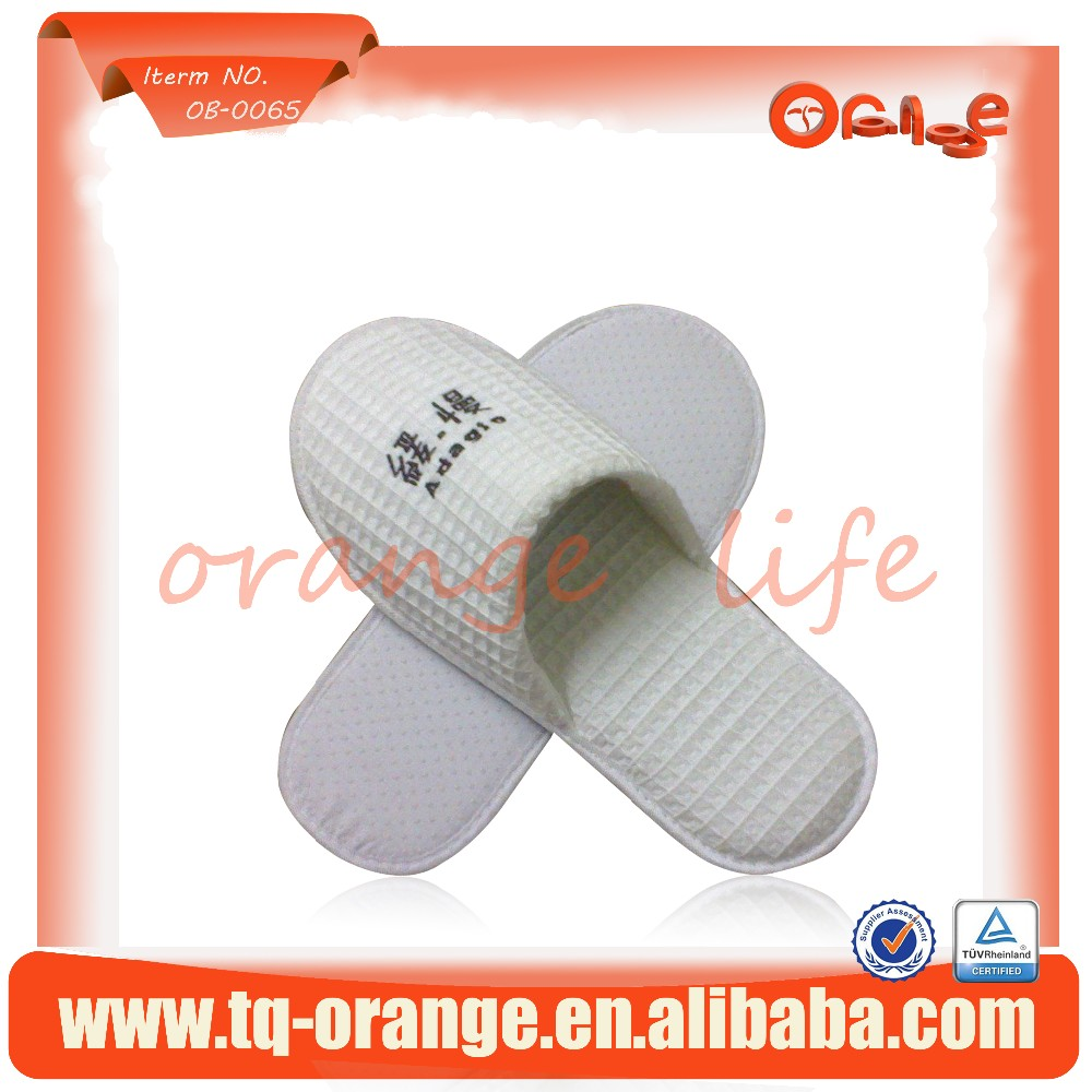 high quality Hua Fuge personalized hotel slippers