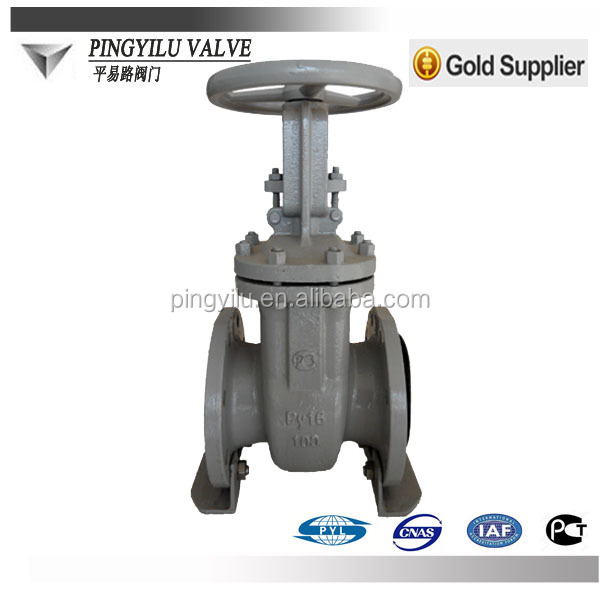 WCB gate valves with drawing Long stem stainless steel gate valve handles