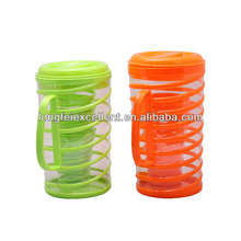 1kettle and 4cups drinkware set insulating plastic water cup