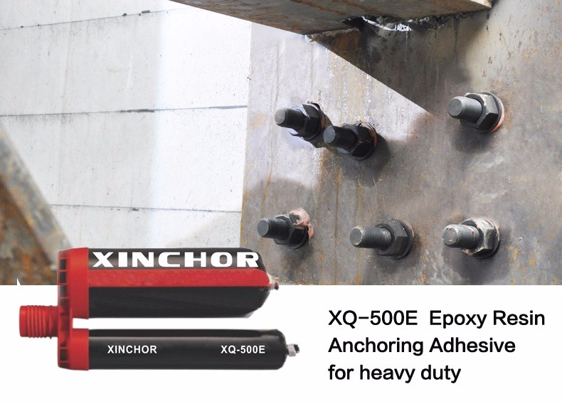 Xinchor XQ-500E RE500 3:1 Dual Action Side by Side Cartridge Epoxy Anchoring