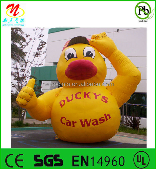 Giant inflatable animal toys, inflatable advertising yellow duck