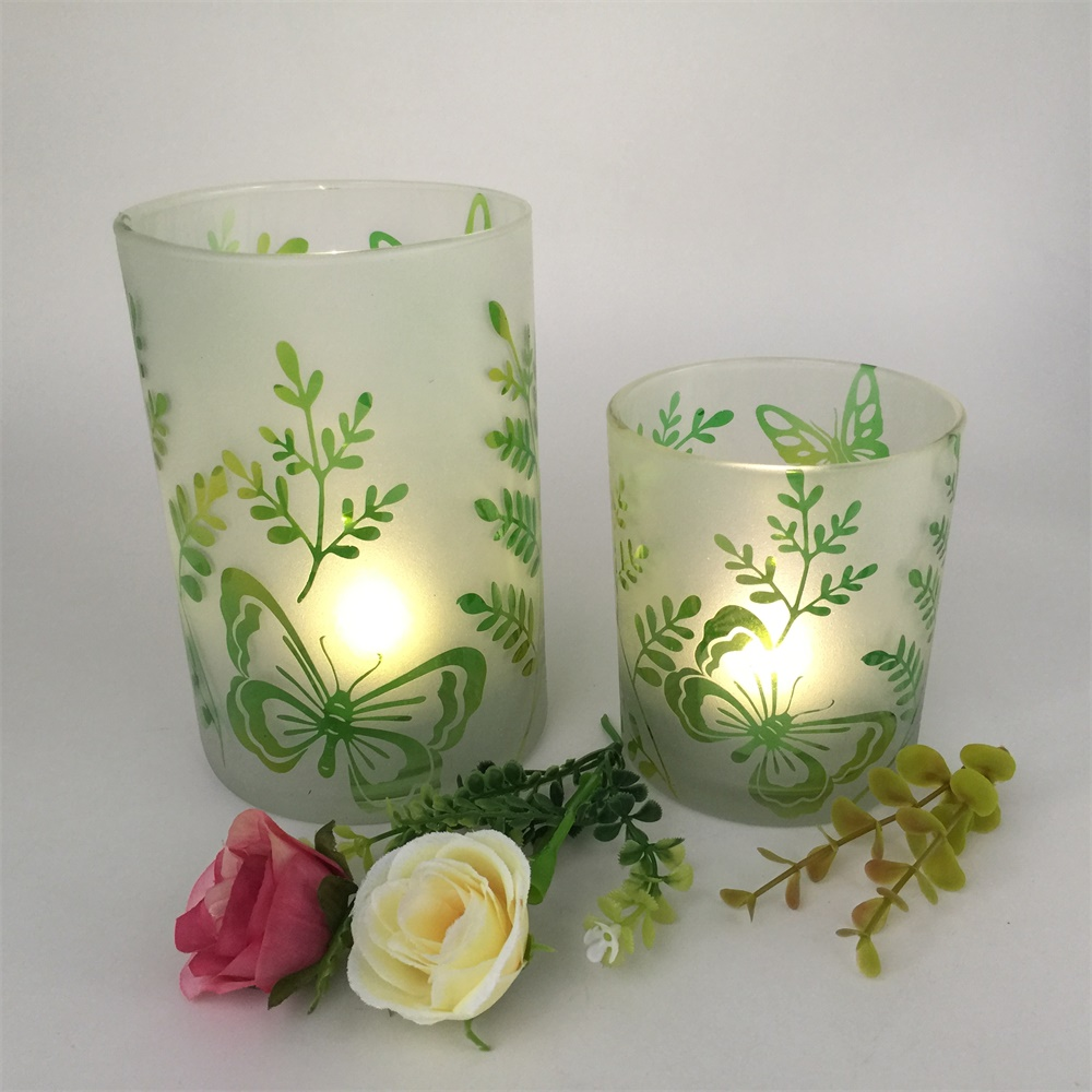 Wedding Favors Antique Glass Candle Container Homes Buy