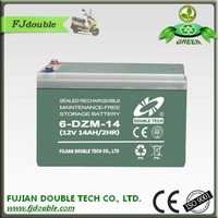 12v14ah electric bike battery for bike , tricycle, toy car