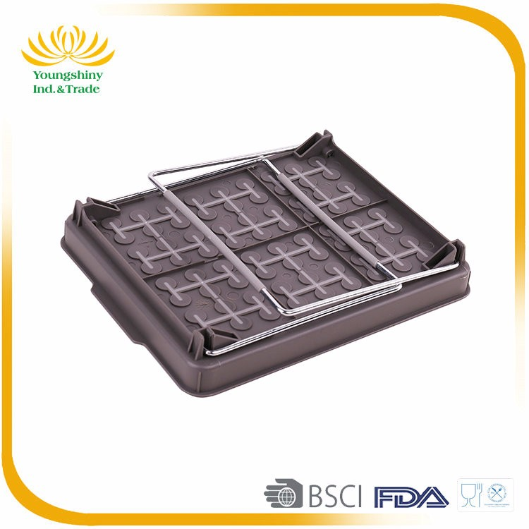 New Design Factory Price Single plastic food basket