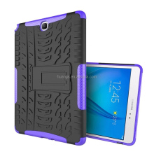 new china products for sale TPU PC Hybrid Kickstand Back Cover for samsung galaxy tab a 9.7 t550 t555 tablet case fast shipping