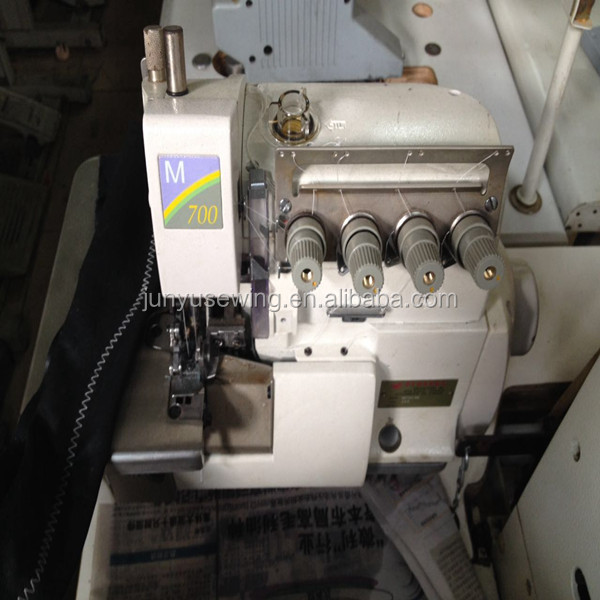 Typically direct drive used Pegasus M700 industrial overlock sewing machine