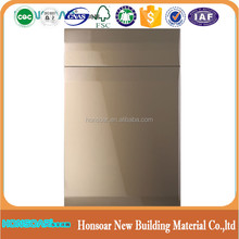 High Gloss Lacquered Handless Kitchen Cabinet Door