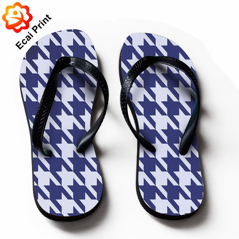 2016 flat digital printing child sandals with artwork