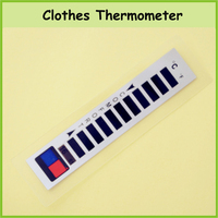 Wholesale Waterproof Liquid Crystal Clothes Garment Thermometer
