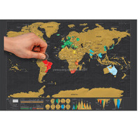 2017 Best Selling Scrach Map Scratch
