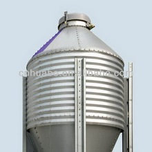 Huabo big hopper bin of chicken feed storage
