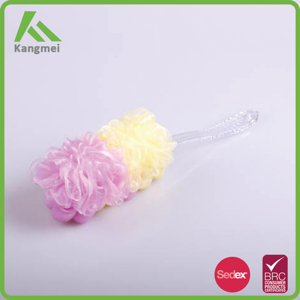 long handle bath brush,wash sponge with handle Harmless to the body