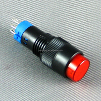 Reliable quality 10mm 3 pin mini latching push button switch