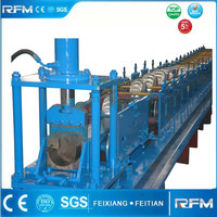 aluminium downpipe water rain gutter and roofing tile cold roll forming machine
