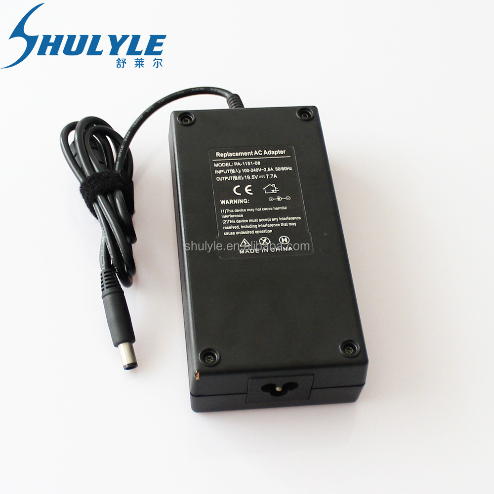 Genuine Original 19.5v 7.7a 150w Adapter Charger For DELL Alienware M11X M14X M15X R2 R3 Laptop AC Power