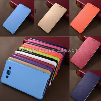 Shockproof Flip PU Leather mobile phone Case Cover for Samsung Galaxy J5 J7
