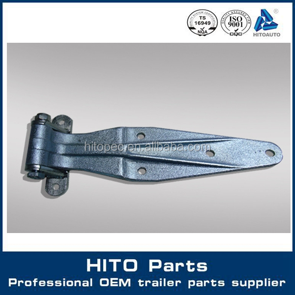 320 mm Length Stainless Steel Heavy Duty Square Strap Corner Hinge For Truck Accessory 12229