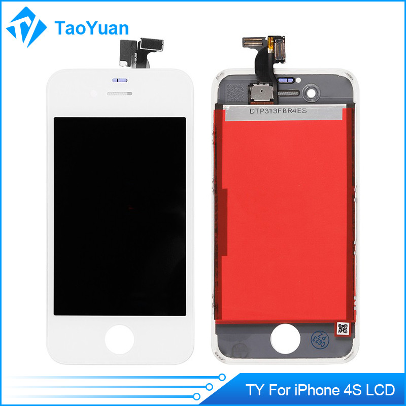 High quality display and touch screen digitizer/tx replacement lcd for Iphone 4s
