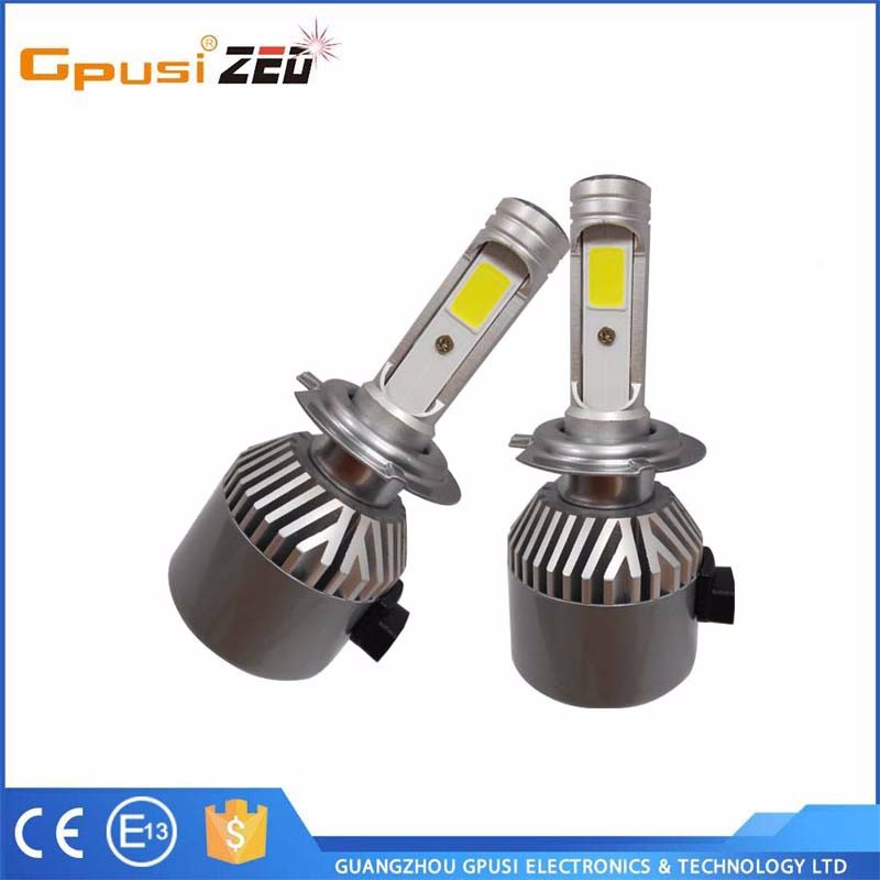 2017 ew canbus H7 Led headlight super bright 4000LM auto car parts replace Xenon hid kits factory cheap sale