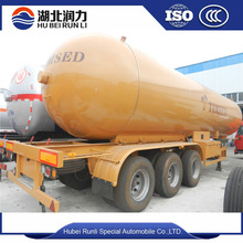 55 cbm lpg tanker traier with 3 axles of best price